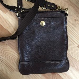 Coach Small Leather Crossbody Bag